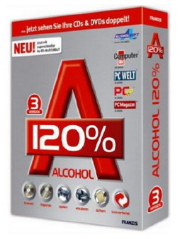 Программа Alcohol 120% 2.0.1.2031 PC RUS 2010