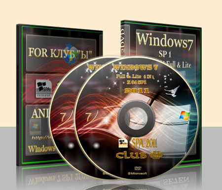 Windows 7 Ultimate SP1 by putnik 8.02.11 Rus 2DVD