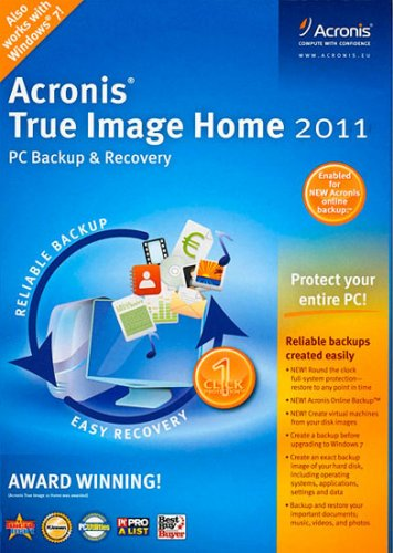Acronis True Image Home 2011 14.0.0 Build 6696 + BootCD & Plus Pack