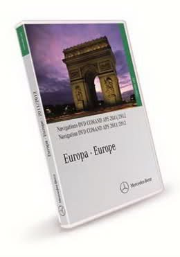 Mercedes-Benz Navigations - DVD Comand APS  [ (NTG1) v.12.0, Europa, 2011 ]