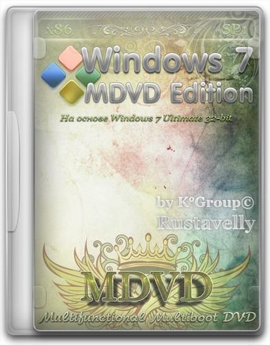 Windows 7 MDVD Edition SP1 (x86) (2011) PC x86 SP1 2011.07 (fixed)