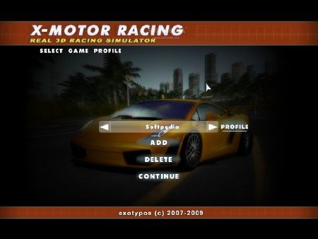 X-Motor Racing 1.39 (2012/ENG/ENG/Demo)